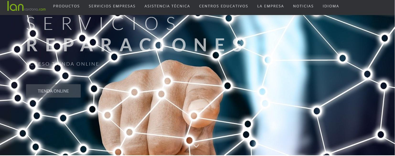 Estrenem nova pàgina web lancardona.com